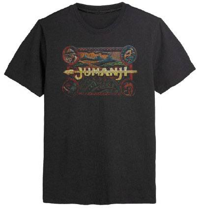 Jumanji T-Shirt Classic Logo Size M