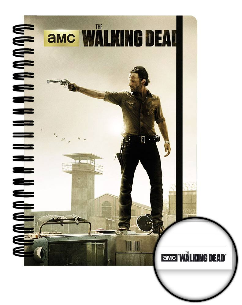 Walking Dead Notebook A5 Prison Case (12)