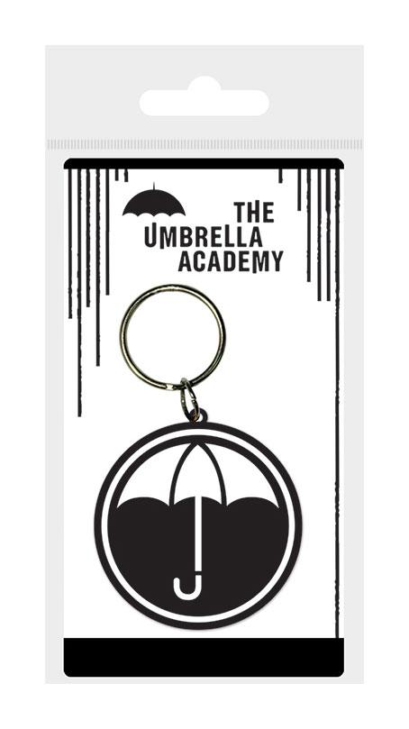 The Umbrella Academy Rubber Keychain Icon 6 cm