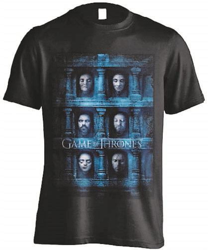 Game of Thrones T-Shirt Death Masks Size S