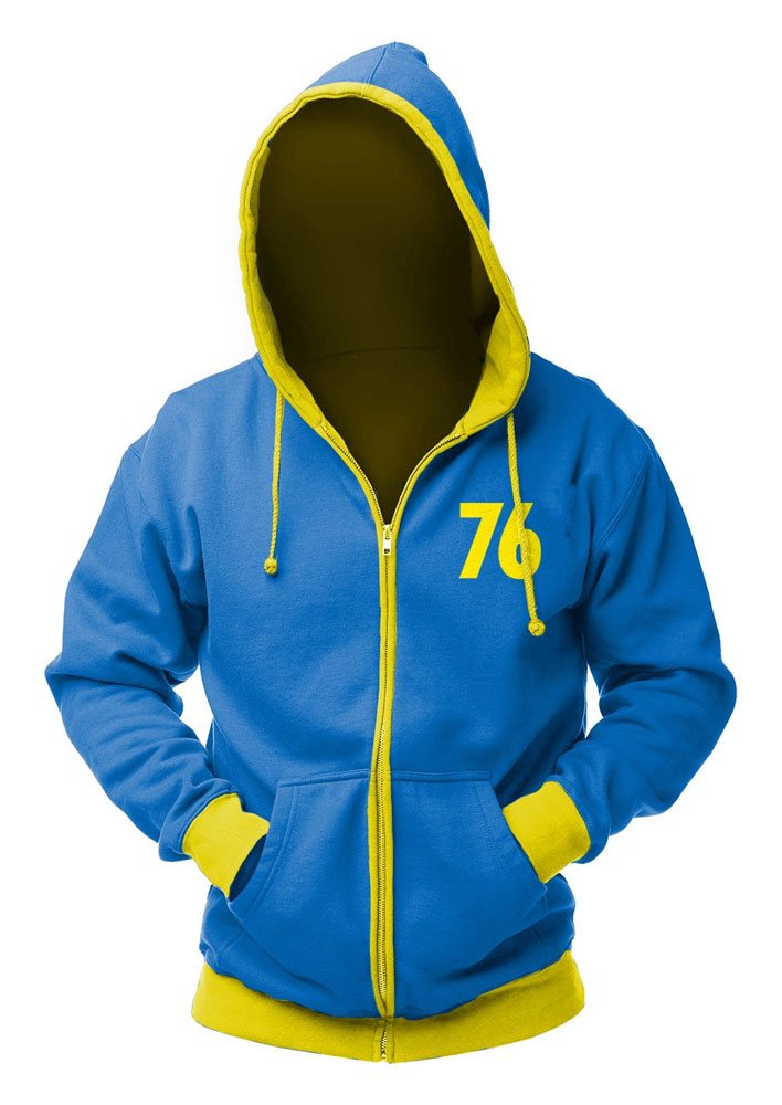 Fallout Hooded Sweater Vault 76 Size XXL