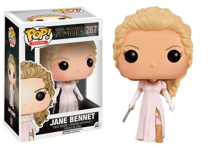 Pride + Prejudice + Zombies POP! Movies Vinyl Figure Jane Bennet 9 cm