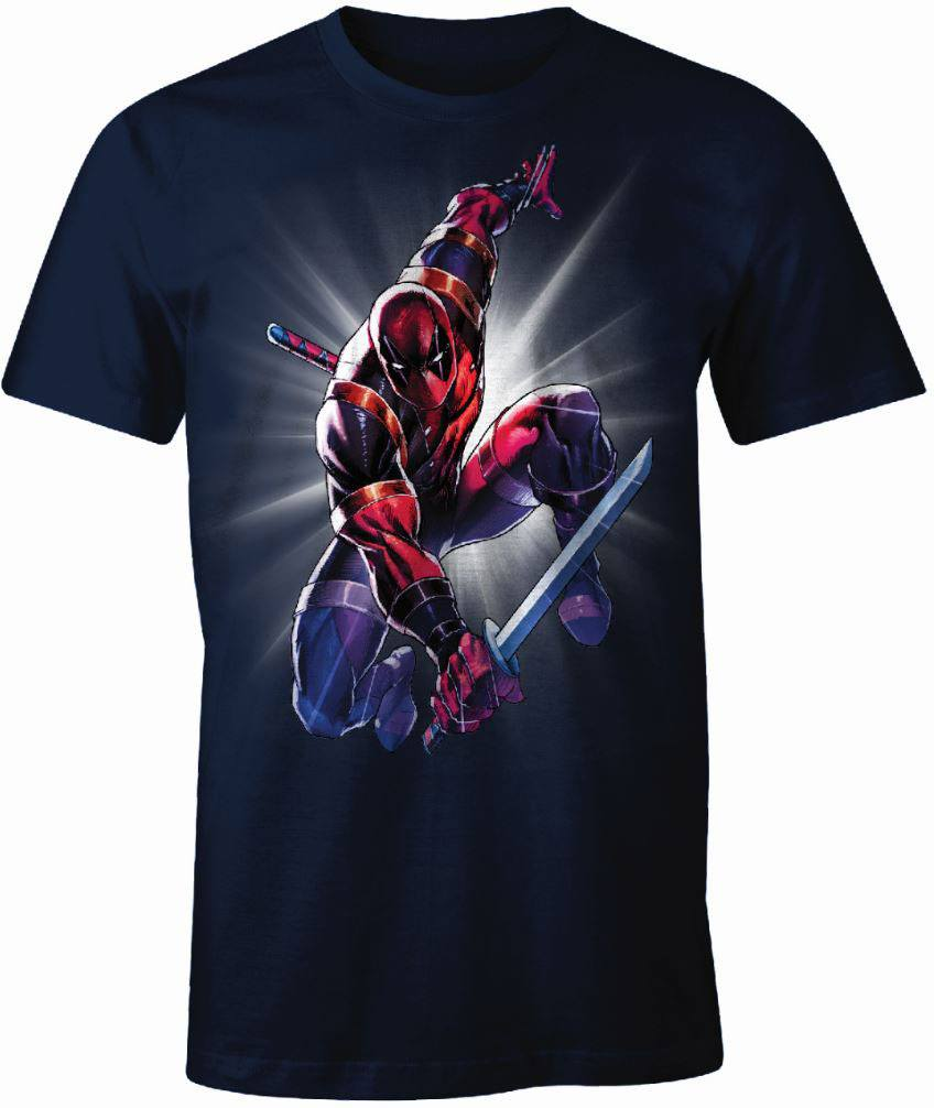 Deadpool T-Shirt Ninja Size S