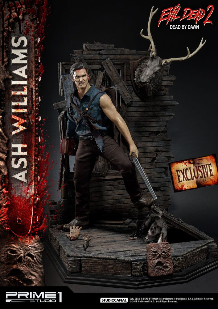 Evil Dead II Statues 1/3 Ash Williams & Ash Williams Exclusive 96 cm Assortment (3)