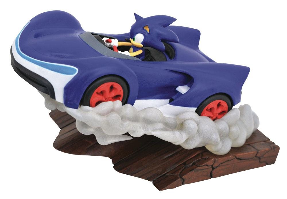 Sonic Racers Gallery PVC Diorama Sonic 25 cm
