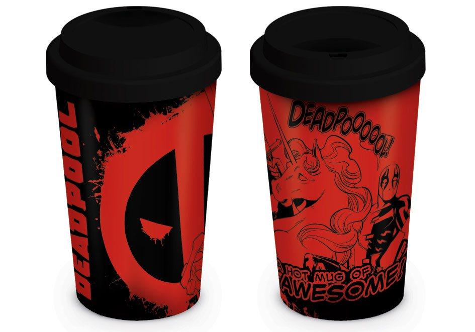 Deadpool Travel Mug Unicorn