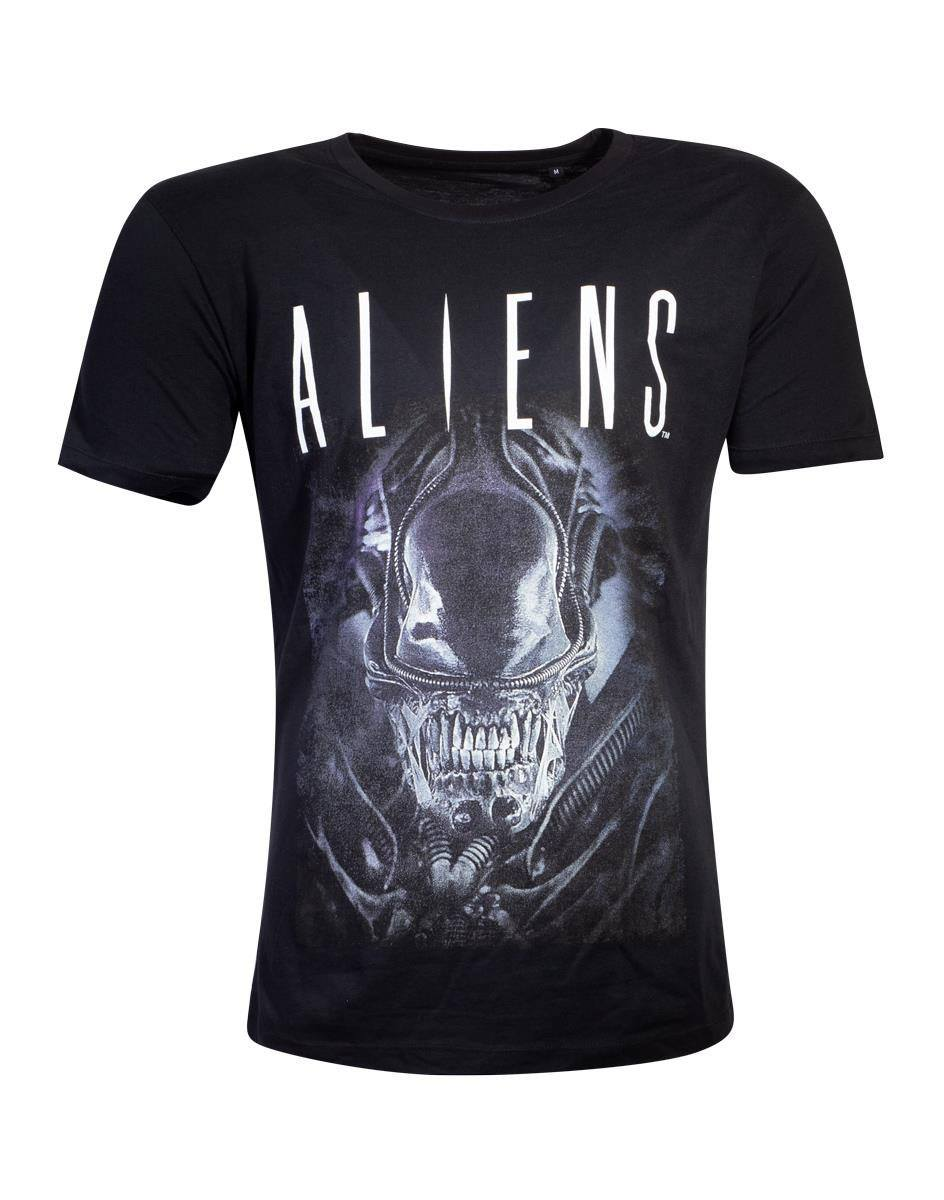 Aliens T-Shirt Say Cheese Graphic Size M