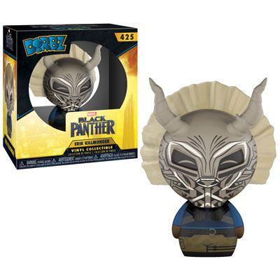 Black Panther Movie Dorbz Vinyl Figure Killmonger (Masked) 8 cm