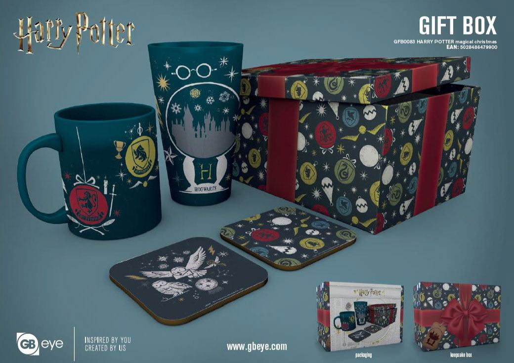Harry Potter Gift Box Magical Christmas
