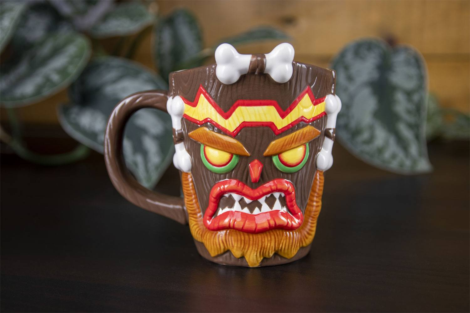 Crash Bandicoot Mug Shaped Uka Uka 13 cm