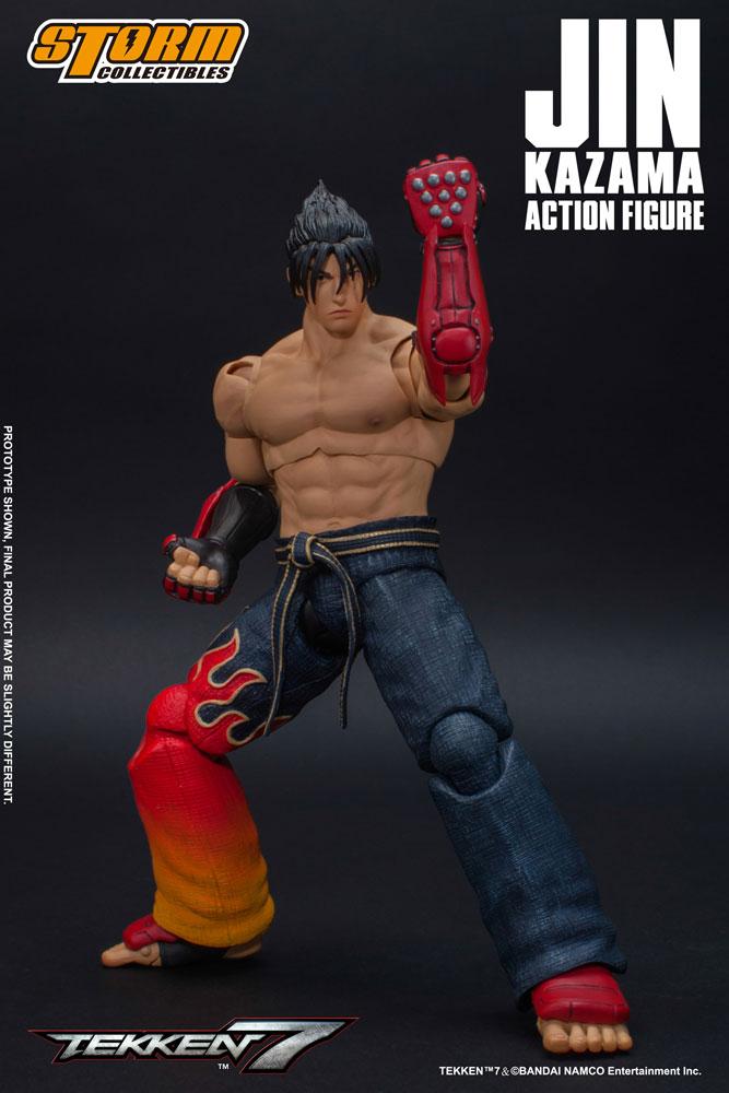 Tekken 7 Action Figure 1/12 Jin Kazama 17 cm
