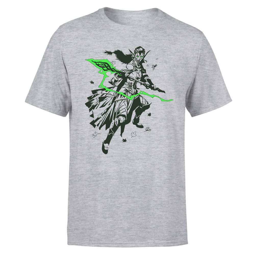 Magic the Gathering T-Shirt Nissa Character Art Size M
