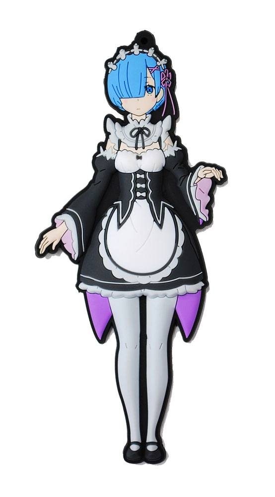 Re:ZERO -Starting Life in Another World- Rubber Strap Rem 15 cm