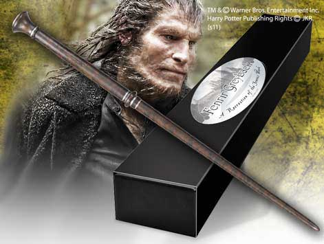 Harry Potter Wand Fenrir Greyback (Character-Edition) --- DAMAGED PACKAGING