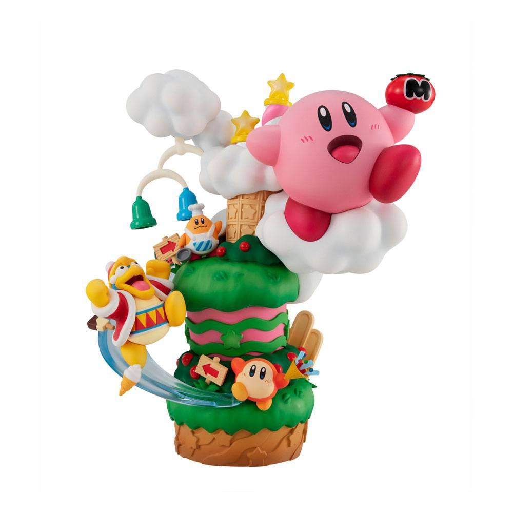 Kirby PVC Statue Kirby Super Star Gourmet Race 18 cm