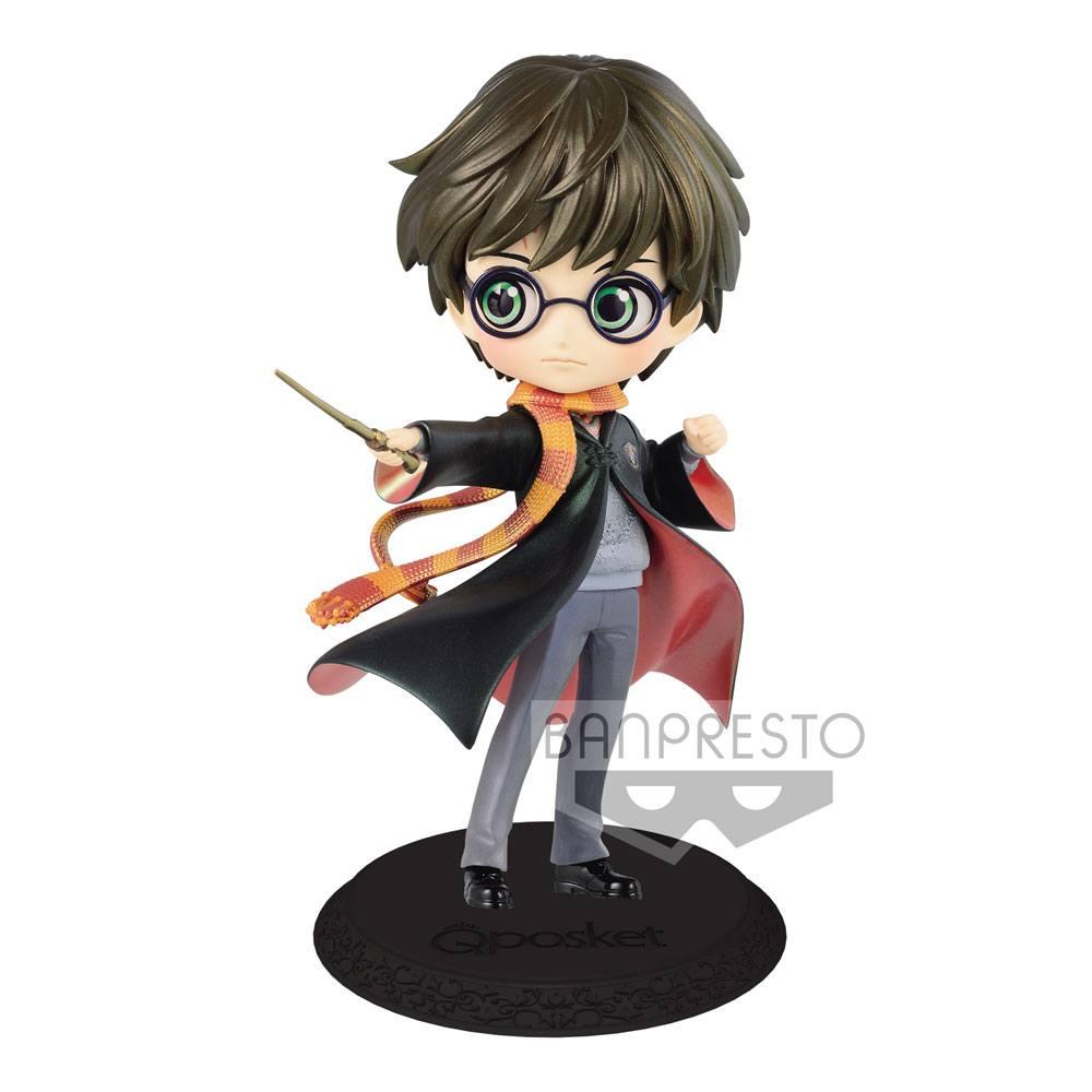 Harry Potter Q Posket Mini Figure Harry Potter B Pearl Color Version 14 cm