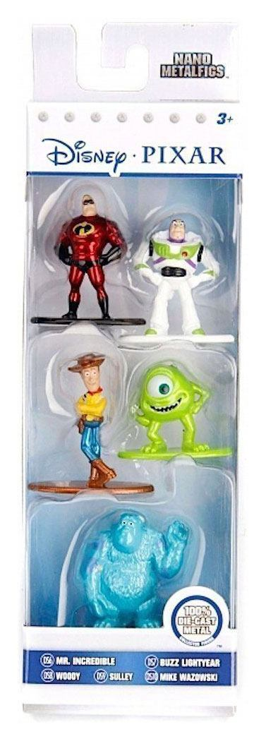 Disney Nano Metalfigs Diecast Mini Figures 5-Pack B 4 cm