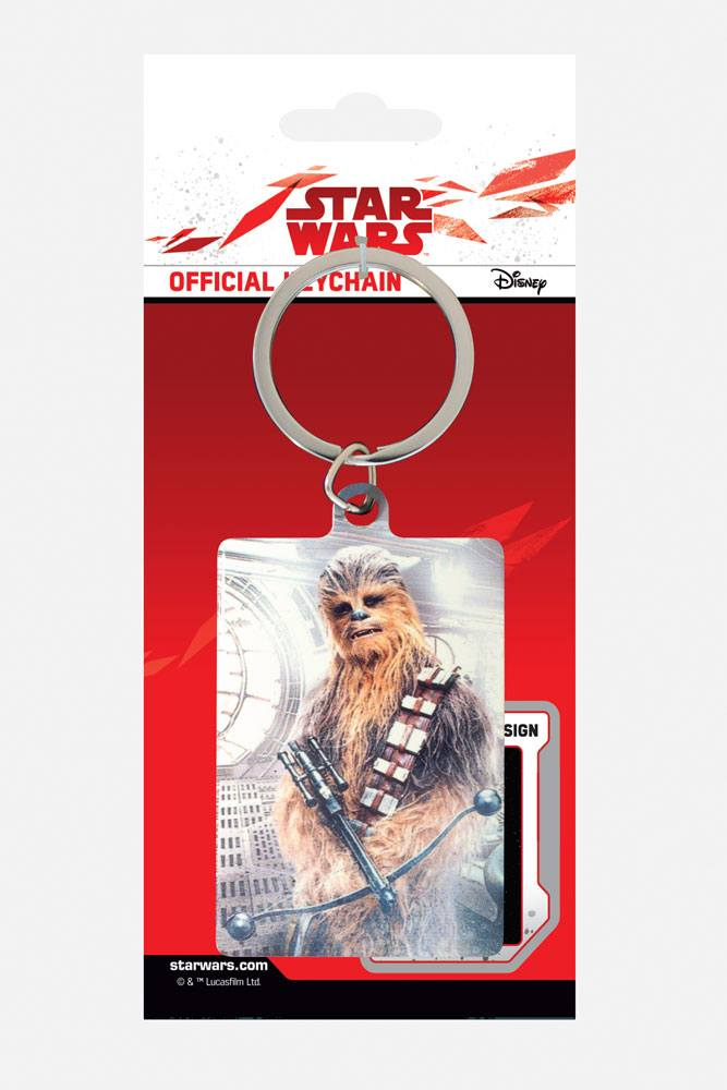 Star Wars Episode VIII Metal Keychain Chewbacca Bowcaster 6 cm