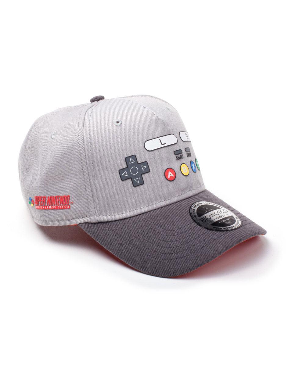 Nintendo Baseball Cap SNES Buttons