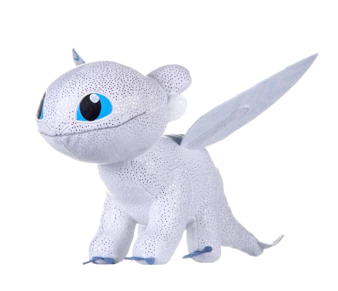 How to Train Your Dragon 3 Plush Figure Light Fury Glow In The Dark 32 cm