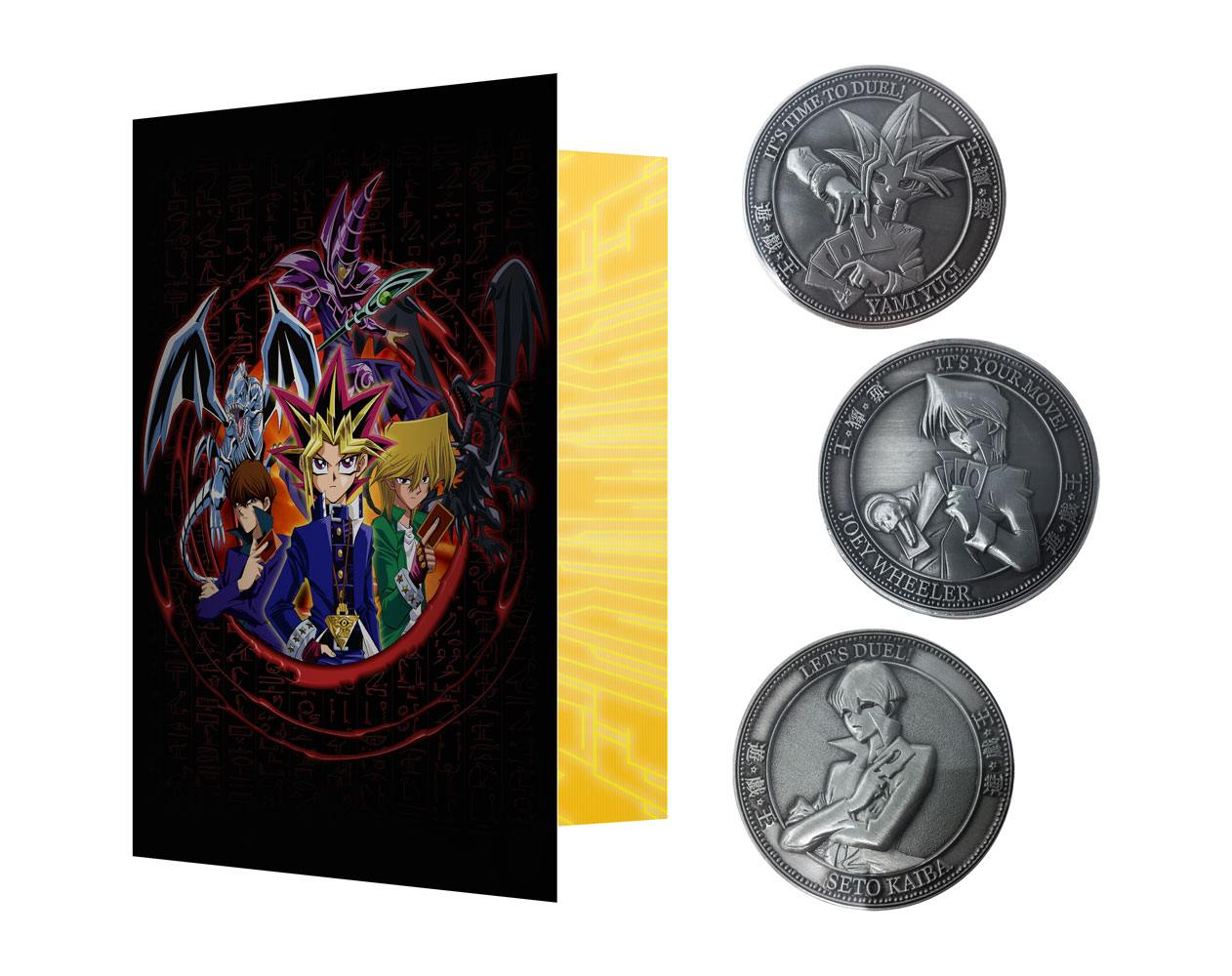 Yu-Gi-Oh! Collectable Coin 3-Pack