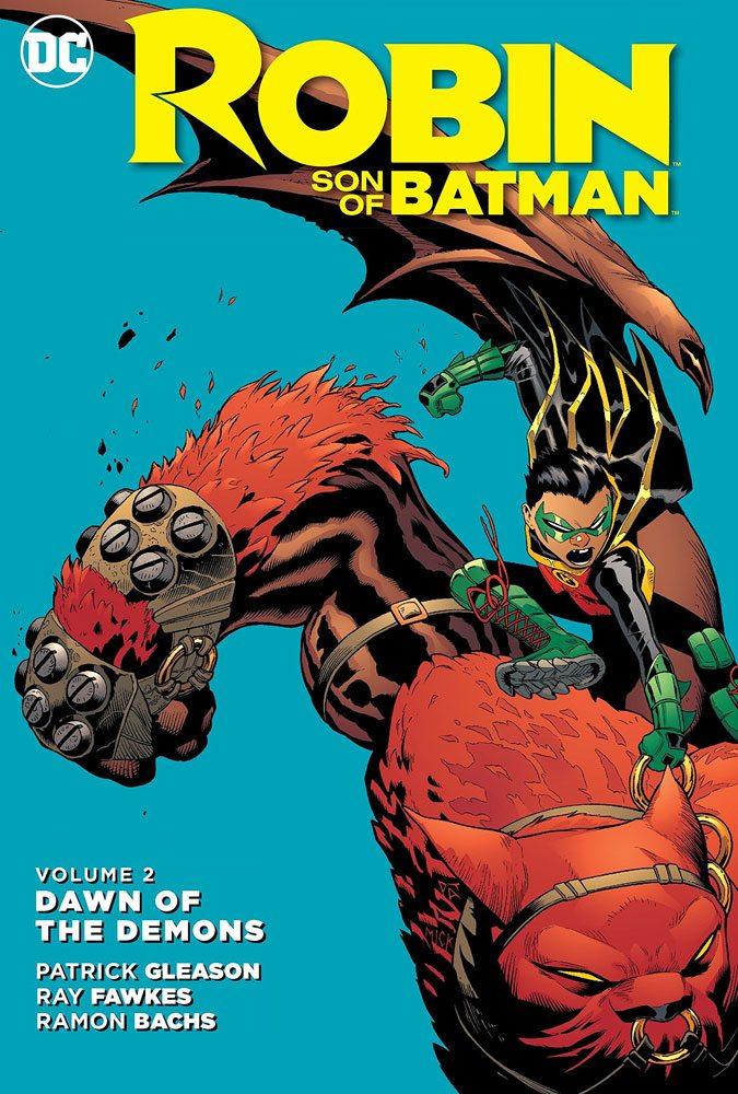 DC Comics Comic Book Robin Son Of Batman Vol. 2 Dawn Od The Demons by Patrick Gleason english
