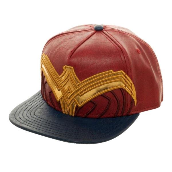 DC Comics Snap Back Cap Wonder Woman Logo