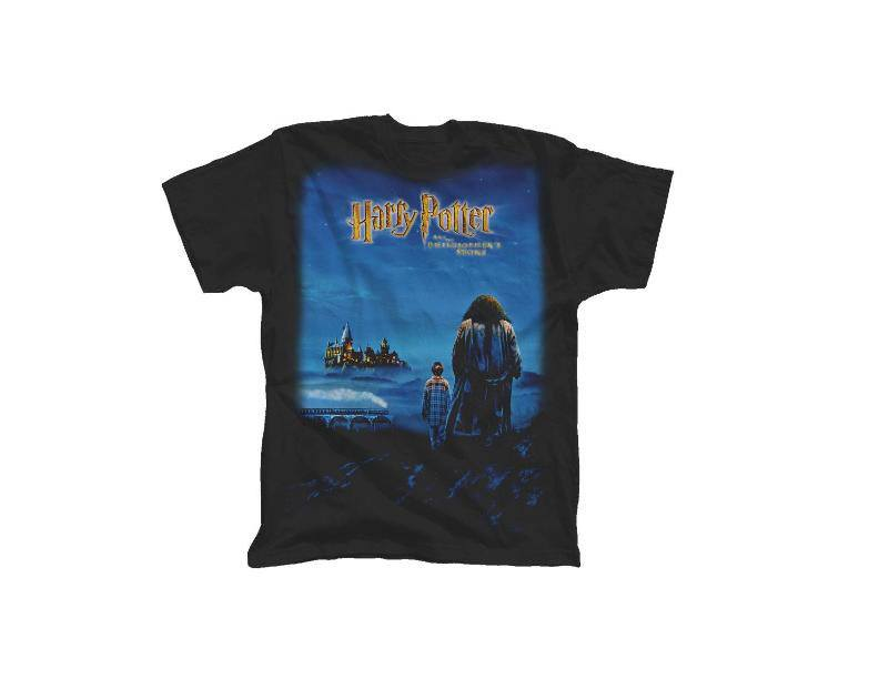 Harry Potter T-Shirt Harry Potter and the Philosopher's Stone Size L