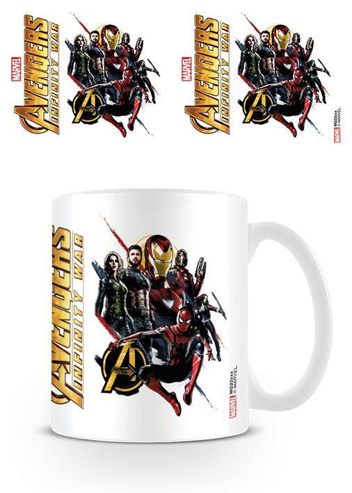 Avengers Infinity War Mug Ready For Action