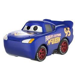Cars 3 POP! Disney Vinyl Figure Lightning McQueen Grey (Blue) 9 cm