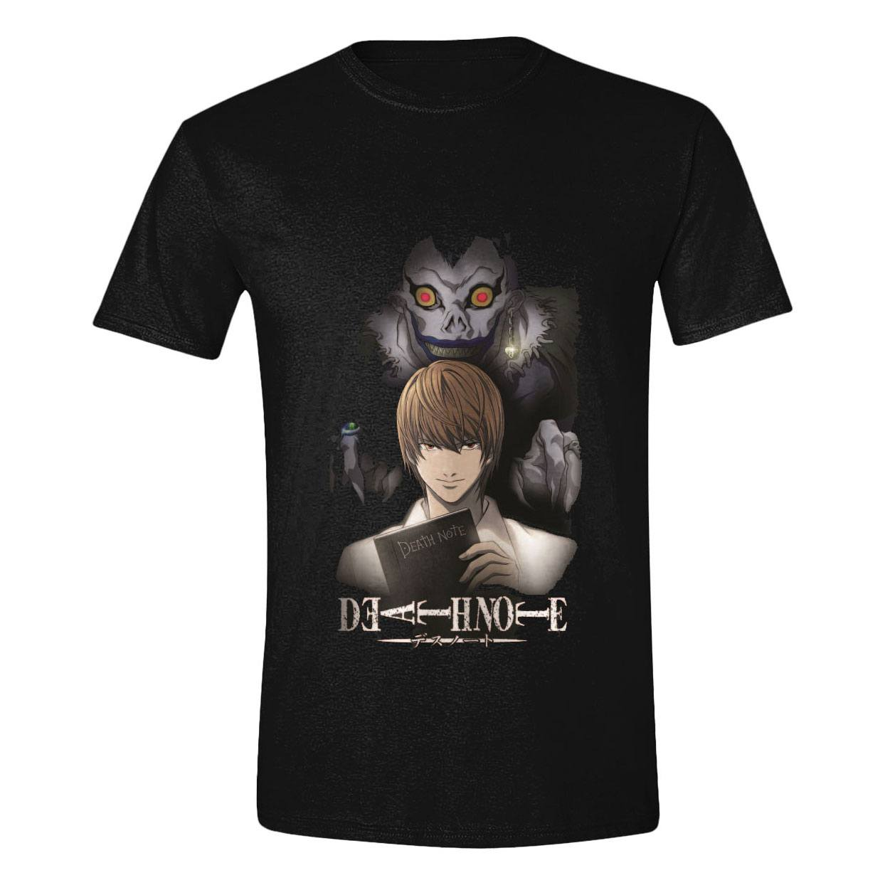 Death Note T-Shirt Ryuk Behind the Death Size XL