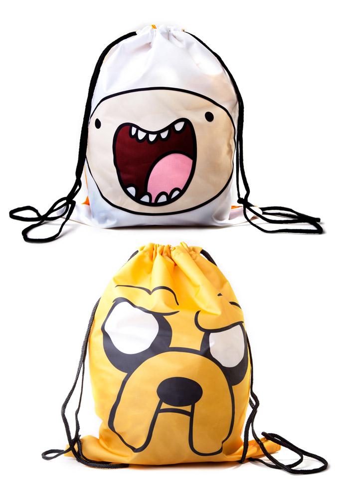 Adventure Time Gym Bag Reversible Finn & Jake