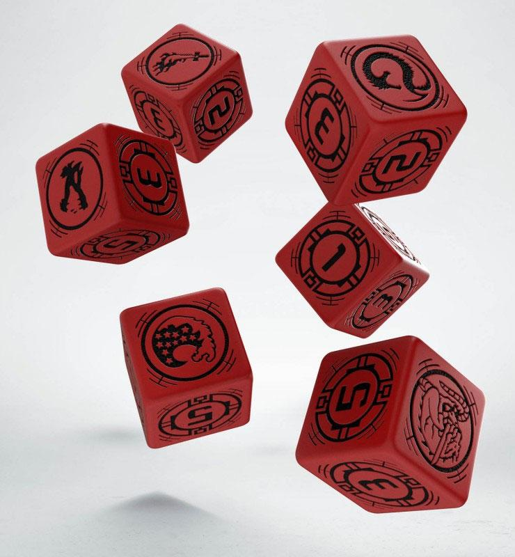 Battletech Dice Set D6 House Kurita (6)