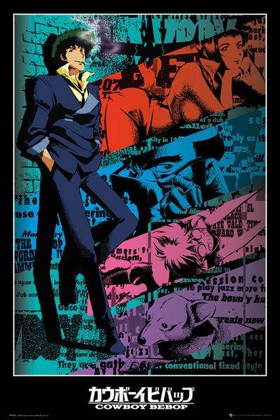 Cowboy Bebop Poster Pack Spike 61 x 91 cm (5)