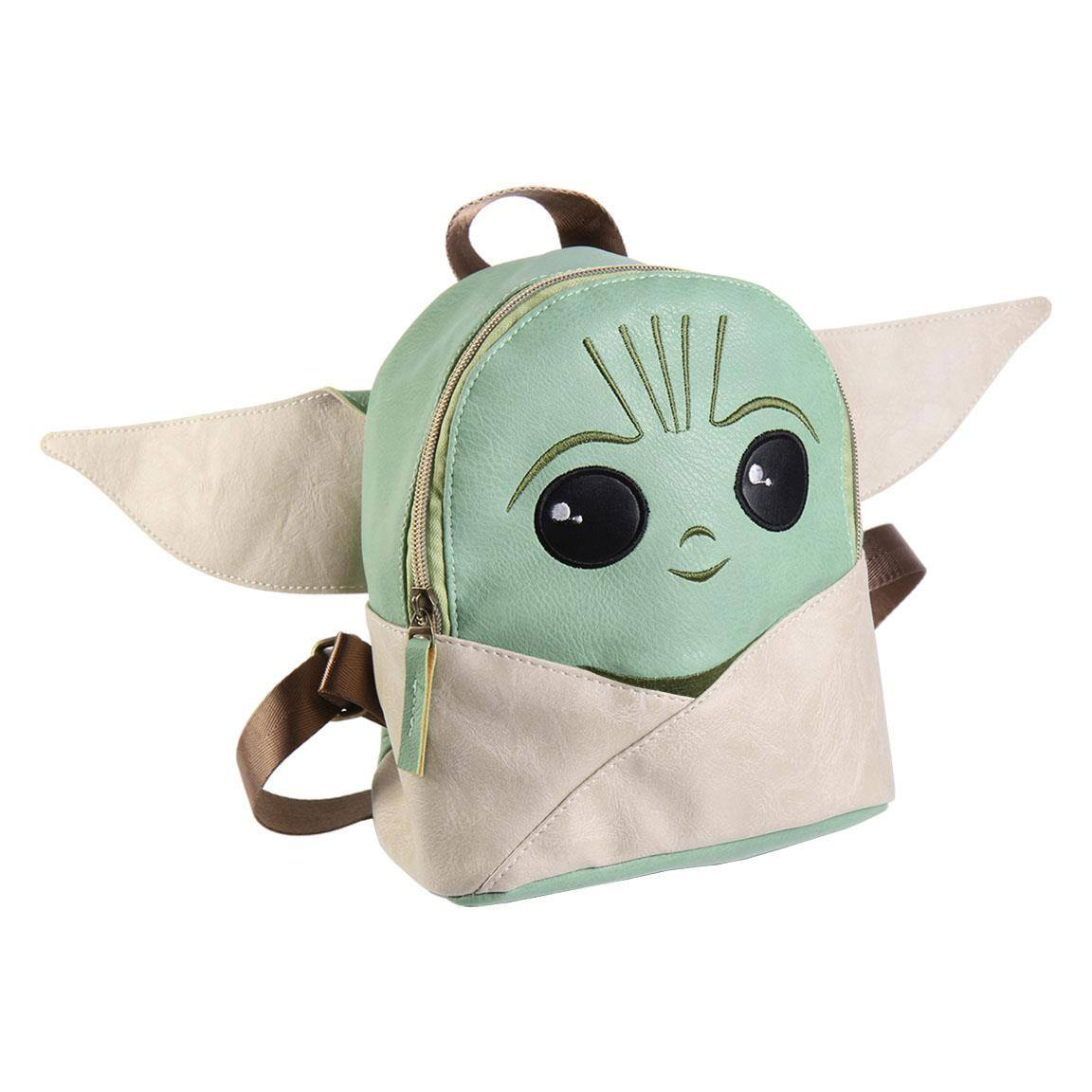 Star Wars The Mandalorian Faux Leather Backpack Grogu