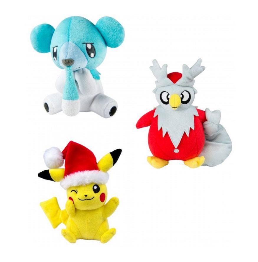 Pokemon XMAS Plush Figures 20 cm D Display (6)