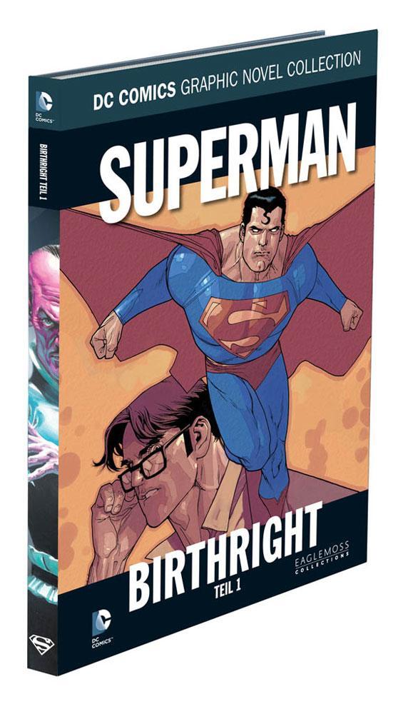 DC Comics Graphic Novel Collection #40 Superman: Birthright, Teil 1 Case (12) *German Version*