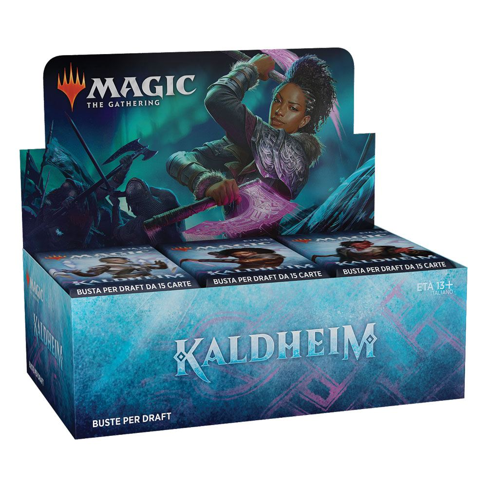 Magic the Gathering Kaldheim Draft Booster Display (36) italian