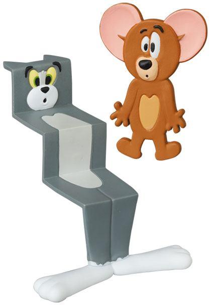 Tom & Jerry UDF Series 2 Mini Figure Tom & Jerry (Pressed) 4 - 10 cm