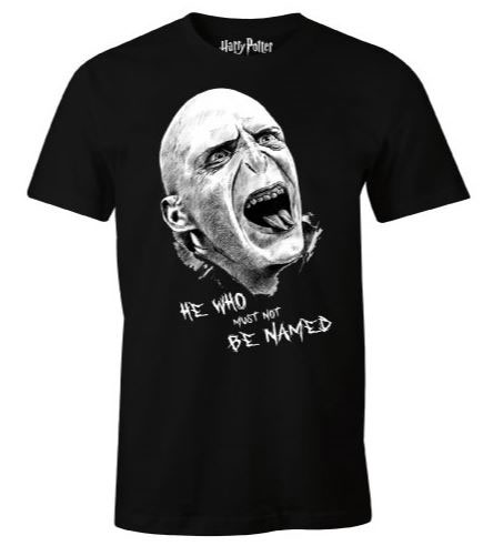 Harry Potter T-Shirt Voldemort Head Size L