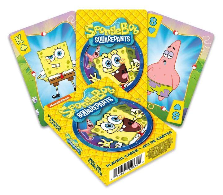 SpongeBob Playing Cards Cartoon