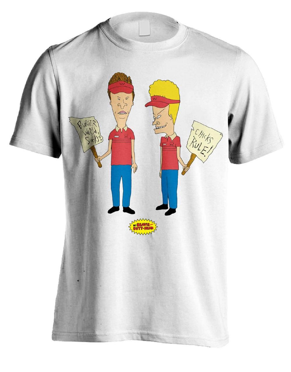 Beavis & Butt-Head T-Shirt Chicks Rule Size M