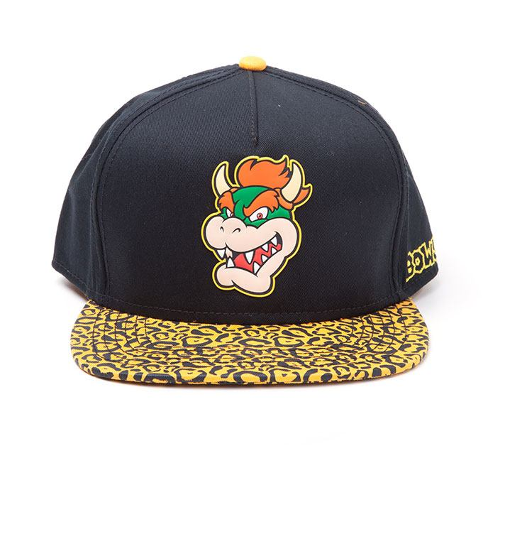 Nintendo Snapback Cap Bowser Rubber Patch