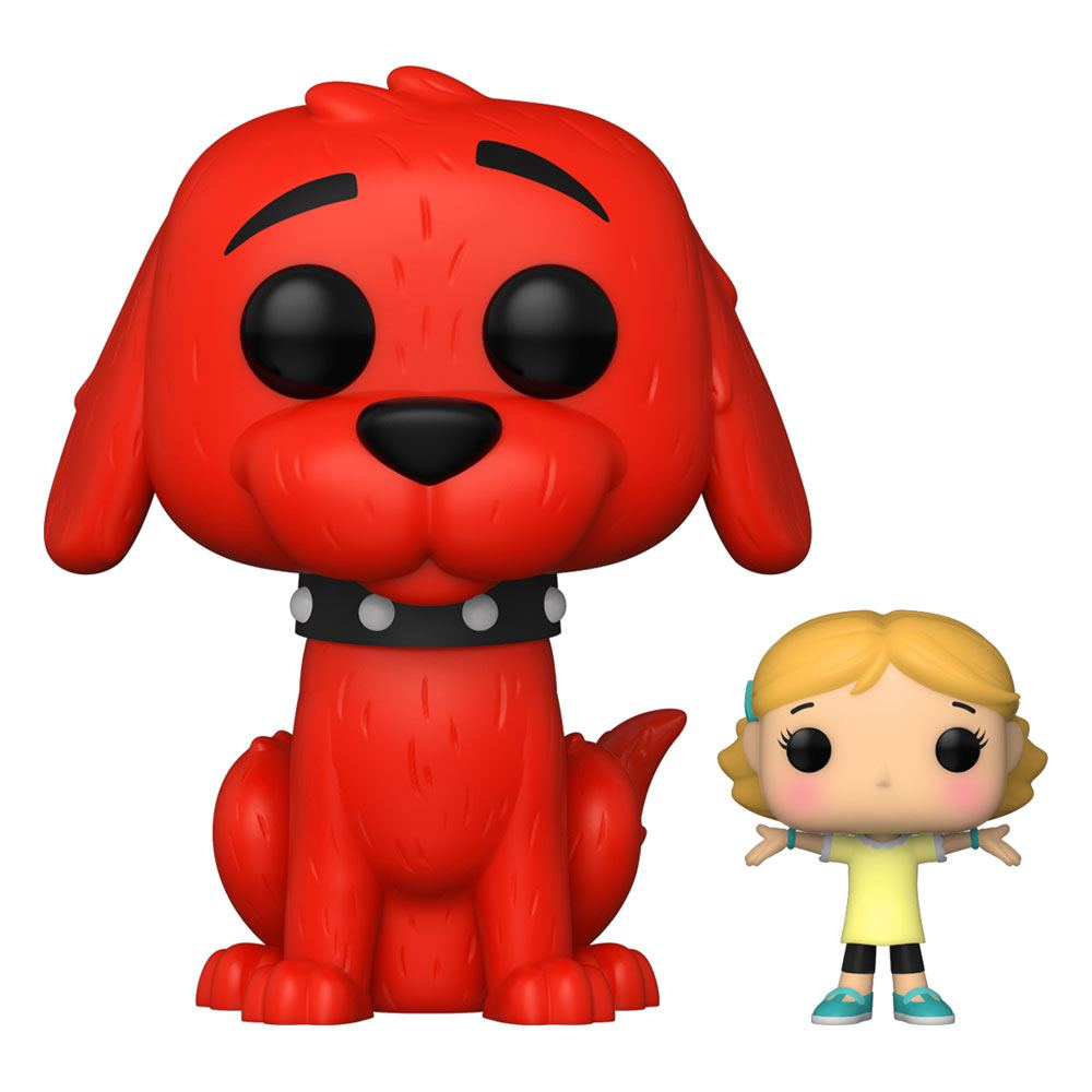 Clifford the Big Red Dog POP! & Buddy Vinyl Figure Clifford w/Emily 9 cm