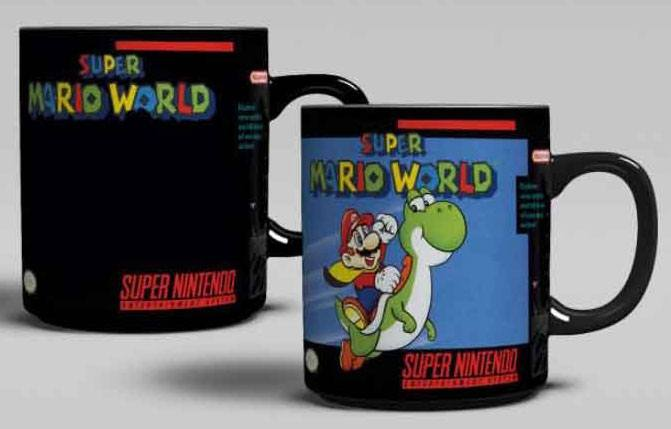 Super Nintendo Heat Change Mug Super Mario World