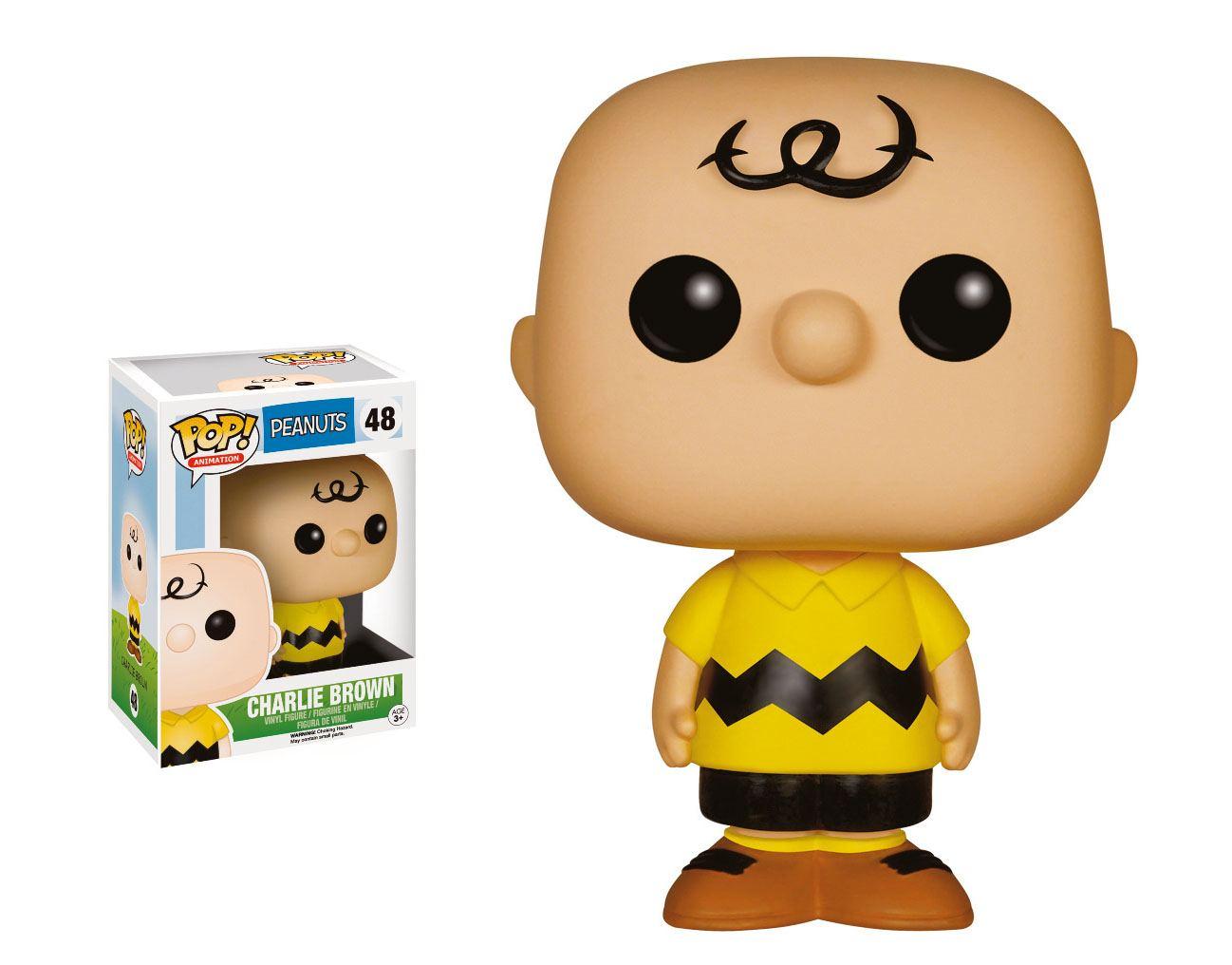 Peanuts POP! Animation Vinyl Figure Charlie Brown 9 cm