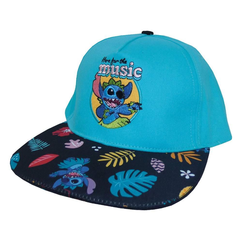 Lilo & Stitch Curved Bill Cap Here For The Music