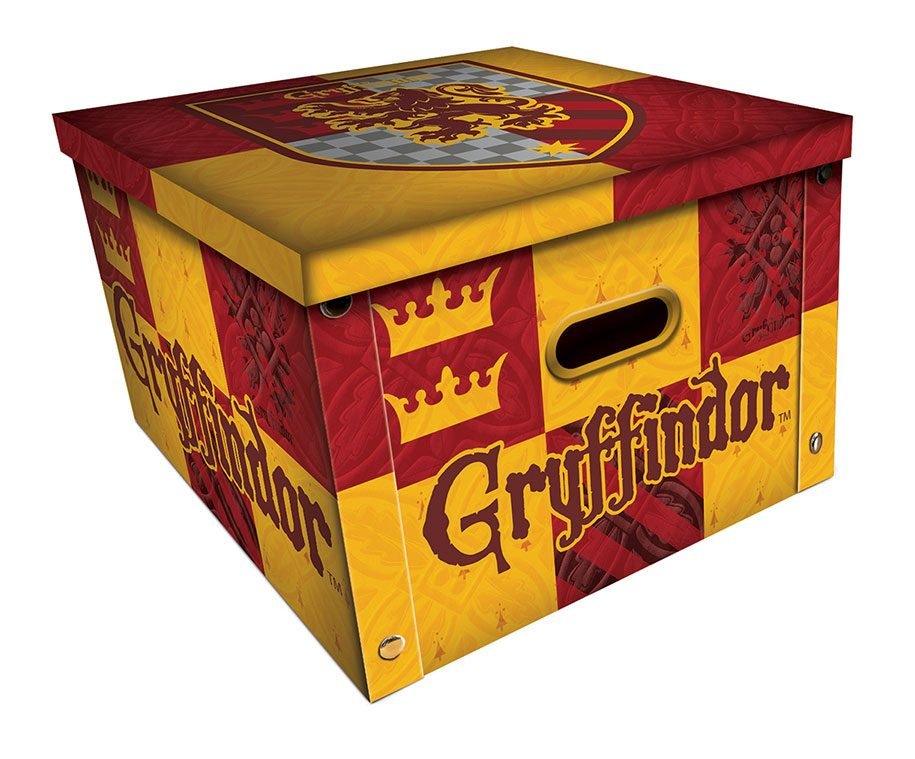 Harry Potter Storage Box Gryffindor Case (5)