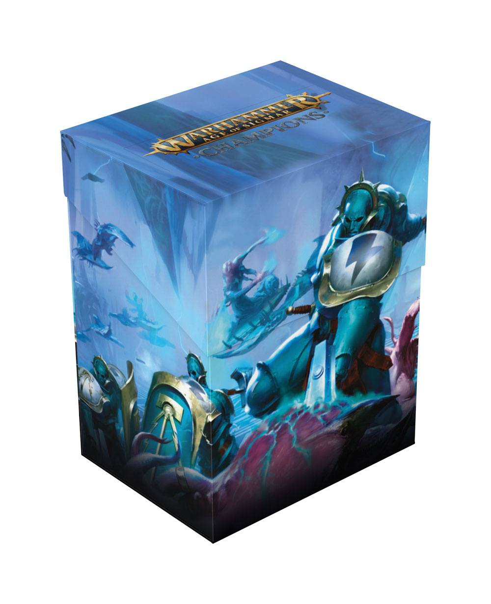 Warhammer Age of Sigmar: Champions Basic Deck Case 80+ Standard Size Order: Triumphant Smash