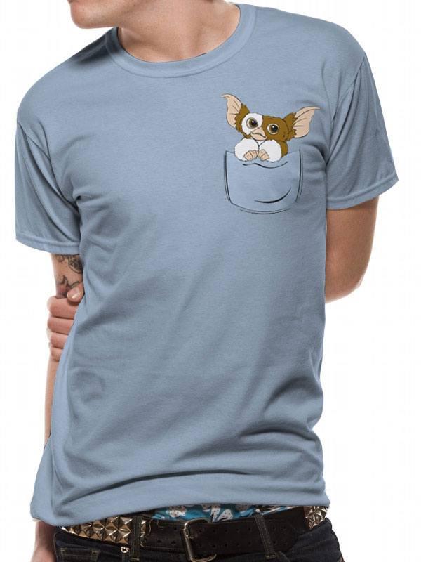 Gremlins T-Shirt Gizmo Pocket Size XL